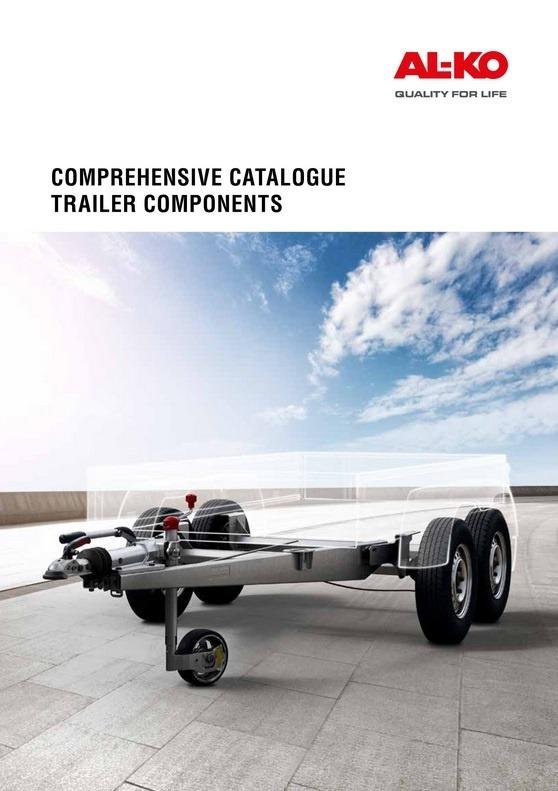 AL-KO Comprehensive Catalogue Trailer Components